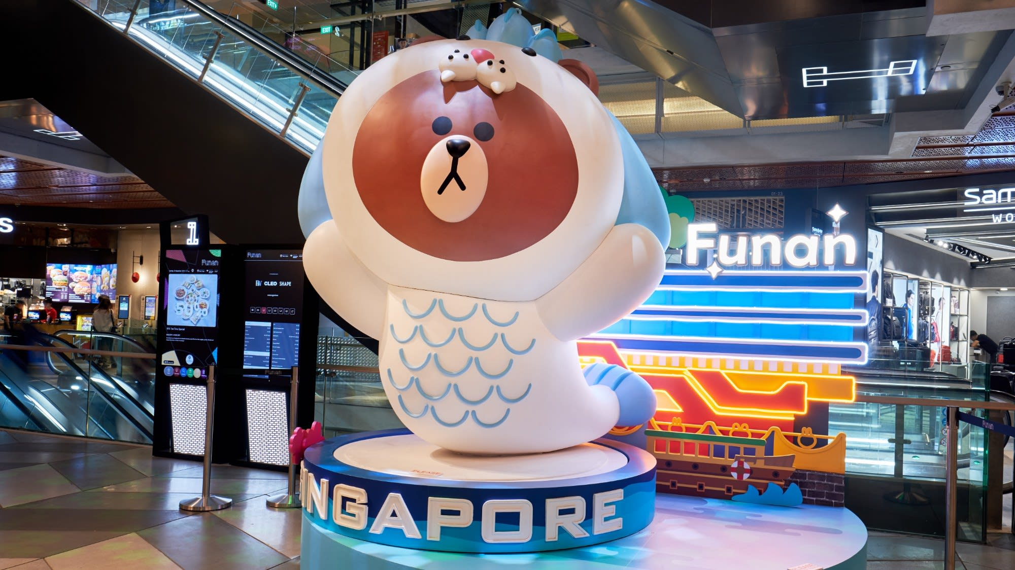 Brown, Cony, Choco and other Line Friends in Singapore | CNA Lifestyle