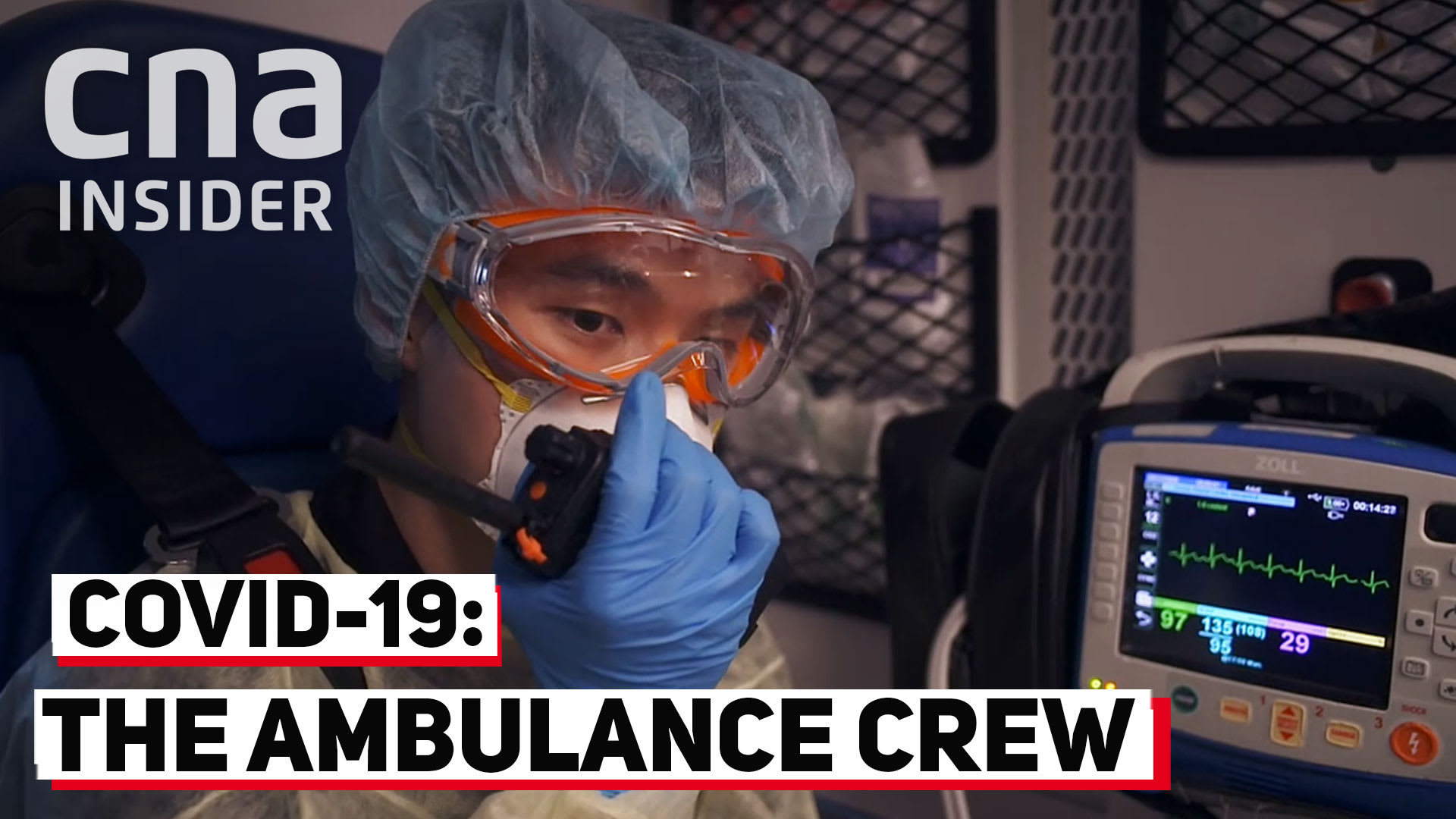 Life on the frontline: the SCDF ambulance crew