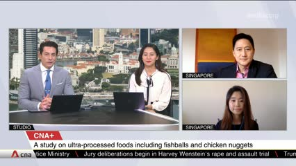 CNA+: Talking Points Tackles Processed Food