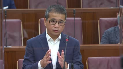 Edwin Tong responds to clarifications sought on COVID-19 (Temporary Measures) (Amendment No. 2) Bill