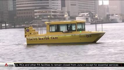 Leisure boat operators in Tokyo hit hard by COVID-19 pandemic | Video