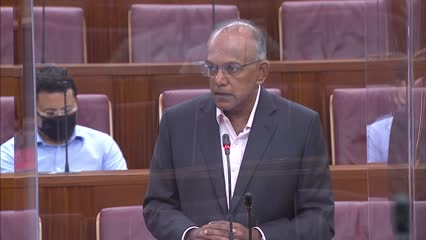 K Shanmugam on COVID-19 (Temporary Measures) (Amendment) Bill