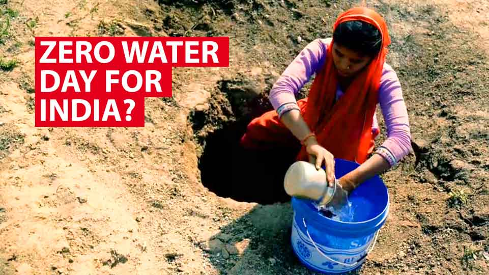 India's looming zero water day