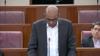 Janil Puthucheary on taxis or private-hire vehicles being used for courier services