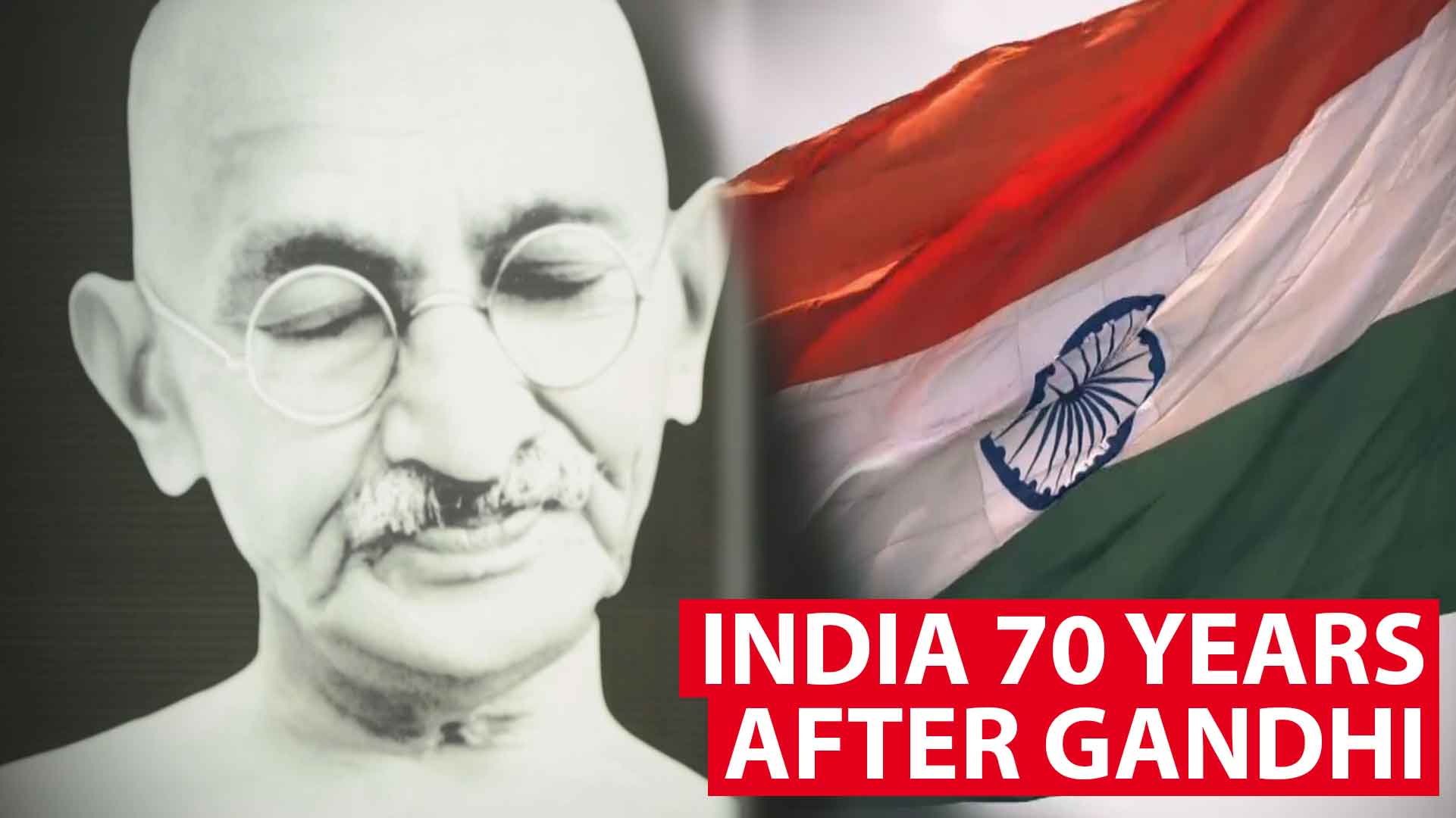 India 70 years after Gandhi: A legacy broken?