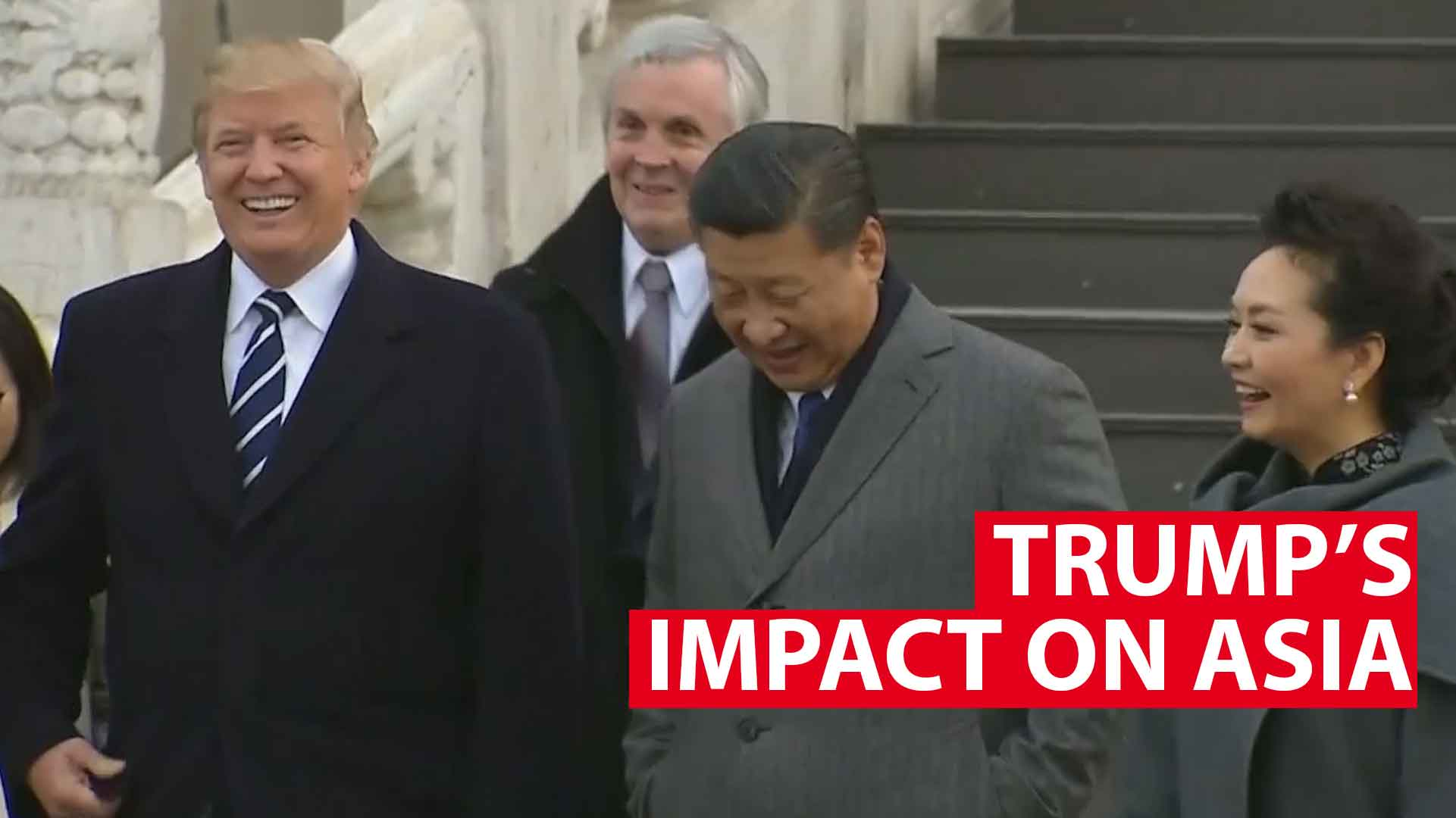 Trump's impact on Asia:  A look back on his first  year as US President
