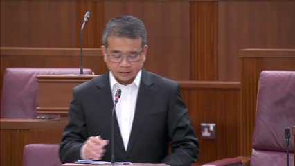 Edwin Tong responds to clarifications sought by MPs on Healthcare Services Bill