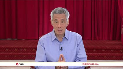 Government prepared to tap into more of Singapore's reserves if COVID-19 situation worsens: PM Lee | Video