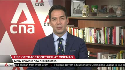 Use of TraceTogether now mandatory for entry to cinemas in Singapore
