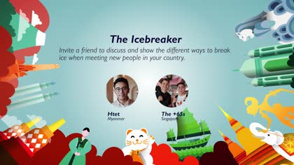 Task 4 The Icebreaker: Htet and The +65s