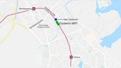 5 North-South Line stations to close during Vesak Day weekend for Canberra station construction | Video