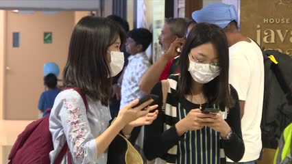 Wuhan virus: Temperature screening begins at Woodlands, Tuas and sea checkpoints | Video