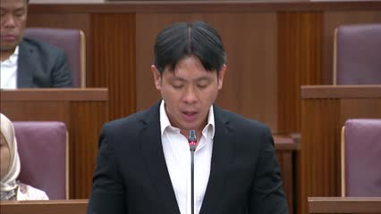 Louis Ng on Active Mobility (Amendment) Bill and Shared Mobility Enterprises (Control and Licensing) Bill