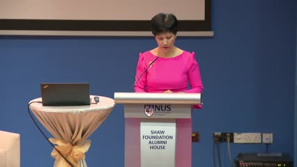 Meritocracy not to blame for Singapore's inequality: Indranee Rajah | Full speech