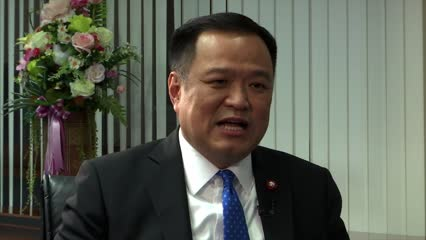 Thai DPM Anutin says will act as necessary check on premier Prayut | Video