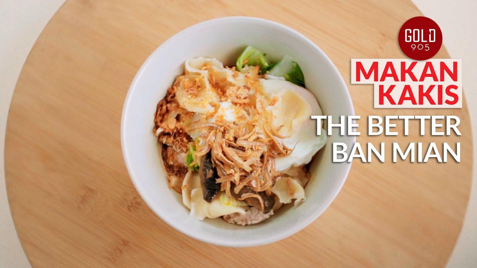 Makan Kakis: Grandma's ban mian with grandson's Italian twist | CNA Lifestyle