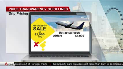 Competition watchdog publishes price transparency guidelines; to come into effect in November | Video