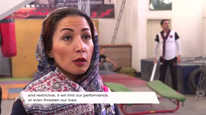 Meet an Iranian stuntwoman changing perceptions in the country and industry
