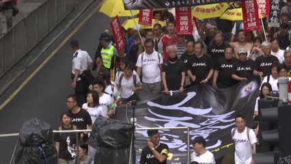 Hong Kong commemorates Tiananmen Square incident | Video