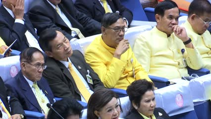Thai PM delivers government's policy statement in parliament | Video