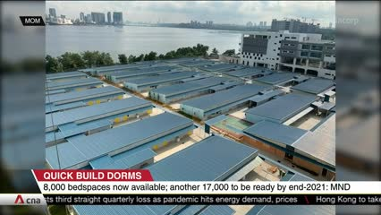 8 more Quick Build Dormitories to be completed by second half of 2021 | Video