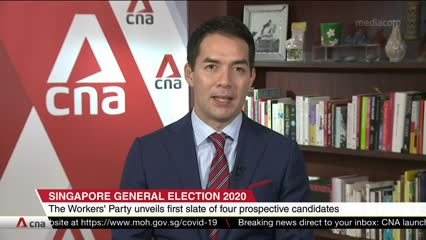 GE2020: Workers' Party unveils first four prospective candidates | Video